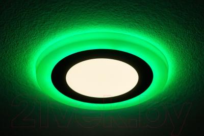 Точечный светильник Truenergy 6+3W 10210 (зеленый)