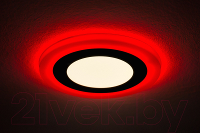 Точечный светильник Truenergy 3+2W 10205 (красный)