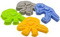 Набор формочек для песочницы Happy Baby Dinosaurs 330403 -