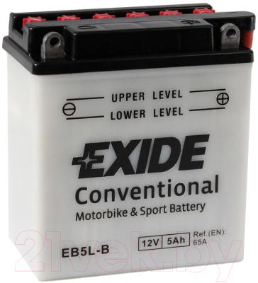 Мотоаккумулятор Exide Conventional EB5L-B (5 А/ч)