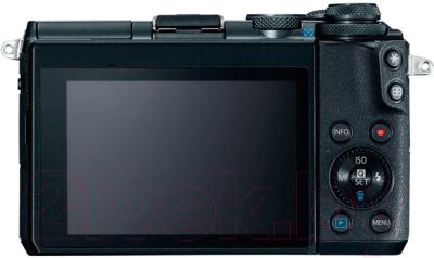Беззеркальный фотоаппарат Canon EOS M6 Kit 15-45mm IS STM / 1724C043AA (черный)