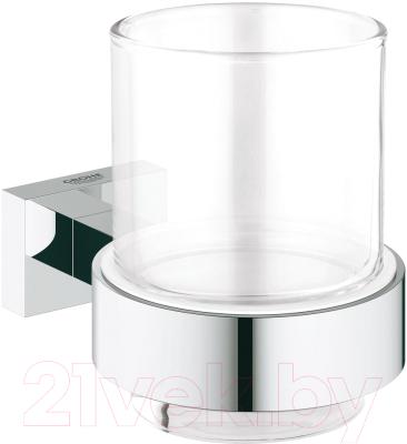 Стакан для зубных щеток GROHE Essentials Cube 40755001
