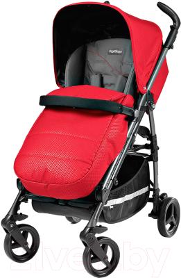 Детская прогулочная коляска Peg-Perego SI Completo (Bloom Red)