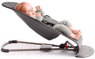 Детский шезлонг BabyBjorn Bliss Mesh Anthracite 0060.13