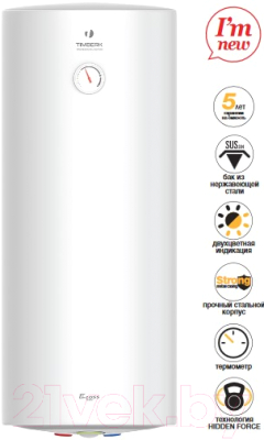 Накопительный водонагреватель Timberk SWH RS1 80 VH