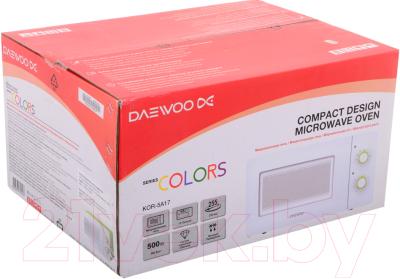 Микроволновая печь Daewoo KOR-5A17 - коробка