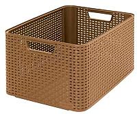 Корзина Curver Style L 03616-213-00 / 208615 (коричневый) -