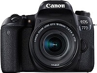 Зеркальный фотоаппарат Canon EOS 77D Kit 18-55mm IS STM / 1892C022AA -