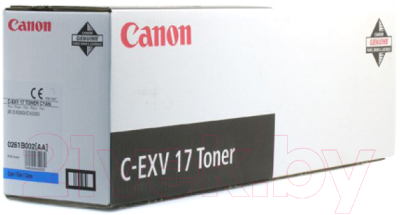 Тонер-картридж Canon C-EXV17C (0261B002)