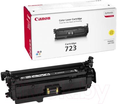 Тонер-картридж Canon 723Y (2641B002BA)