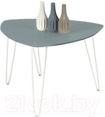 Журнальный столик Halmar Nikita 2 (серый)