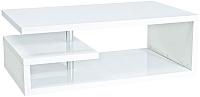 Журнальный столик Signal Tierra 100x60 (белый) -