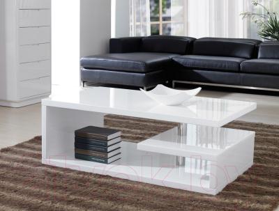 Журнальный столик Signal Tierra 100x60 (белый)