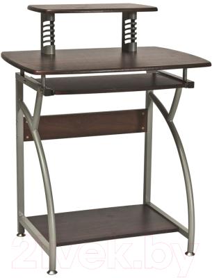 Компьютерный стол Signal B07 (темно-коричневый)