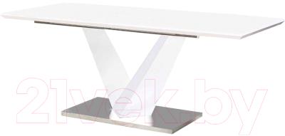Обеденный стол Halmar Lorenzo (белый)
