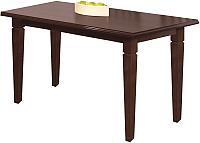Обеденный стол Halmar Marcel (темный орех) -