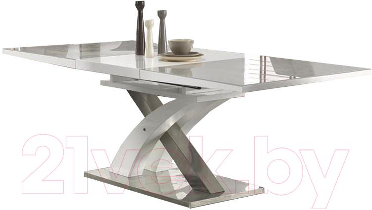 Купить Обеденный стол Halmar, Sandor 2 160-220x90 (серо-белый), Китай