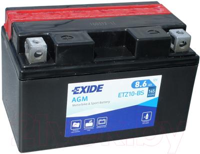 Мотоаккумулятор Exide Bike Maintenance Free ETZ10-BS (8.6 А/ч)