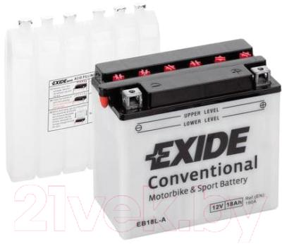Мотоаккумулятор Exide EB18L-A (18 А/ч)
