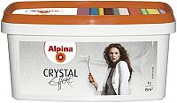 Лазурь для древесины Alpina Effekt Crystal Glitzer (1л) -