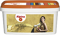 Краска декоративная Alpina Effekt Metall Silber (1л) -