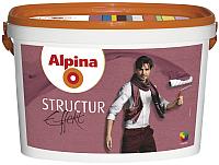 Краска декоративная Alpina Effekt Structur Weiss (5л) -