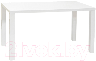 Обеденный стол Signal Montego 80x120 (белый лак)