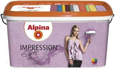 Краска декоративная Alpina Effekt Impression Weiss (10л)