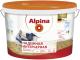 Краска Alpina Надежная интерьерная (10л, белый) -