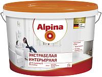 Краска Alpina Экстрабелая интерьерная (2.5л, белый) -