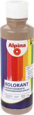Колеровочная краска Alpina Kolorant Marone (500 мл, каштановый)