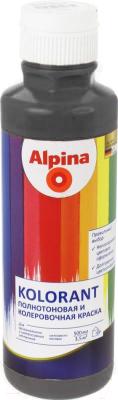 Колеровочная краска Alpina Kolorant Schwarz (500мл, черный)