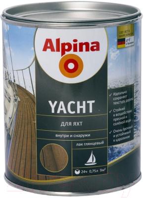 Лак яхтный Alpina Yacht (750мл, глянцевый)