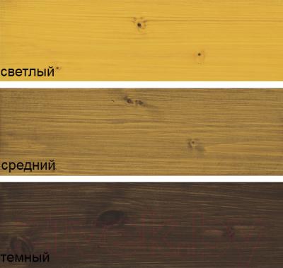 Масло для древесины Alpina Oel Fuer Terrassen (2.5л, темный)