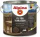 Масло для древесины Alpina Oel Fuer Terrassen (2.5л, темный) -