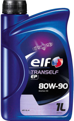 Трансмиссионное масло Elf Tranself EP 80W90 / 194736 (1л)