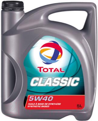 Моторное масло Total Classic 5W40 / 156721 (5л)