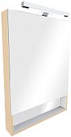Шкаф с зеркалом для ванной Roca The Gap ZRU9302700 (бежевый) -