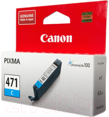 Картридж Canon CLI-471C (0401C001AA)