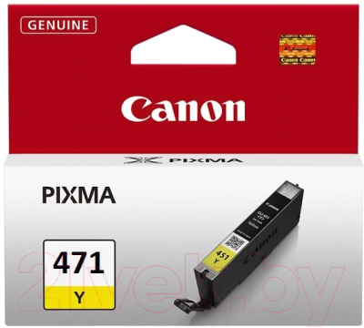 Картридж Canon CLI-471Y (0403C001AA)