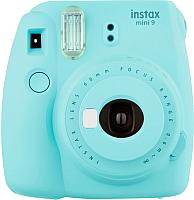 Фотоаппарат с мгновенной печатью Fujifilm Instax Mini 9 (голубой) -