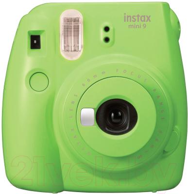 Фотоаппарат с мгновенной печатью Fujifilm Instax Mini 9 (зеленый)