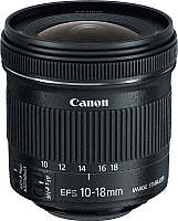 Широкоугольный объектив Canon EF-S 10-18mm f/4.5-5.6 IS STM (9519B005AA) -