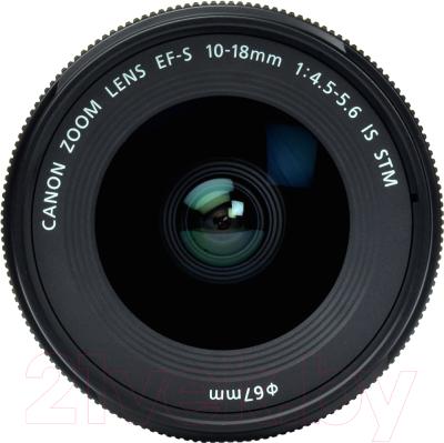 Широкоугольный объектив Canon EF-S 10-18mm f/4.5-5.6 IS STM (9519B005AA)