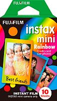 Фотопленка Fujifilm Instax Mini Rainbow (10шт) -