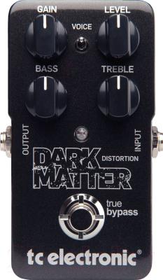 Педаль электрогитарная TC Electronic Dark Matter Distortion