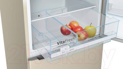 Холодильник с морозильником Bosch KGE39XK2AR