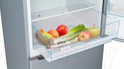 Холодильник с морозильником Bosch KGV39XL22R