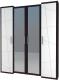 Шкаф Мебель-Неман Барселона МН-115-04-220 (белый глянец/дуб Ниагара) -
