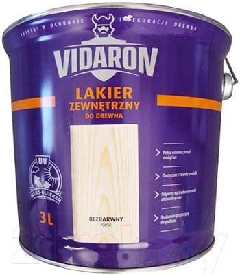 Лак Vidaron Наружный (3л, бесцветный глянец)